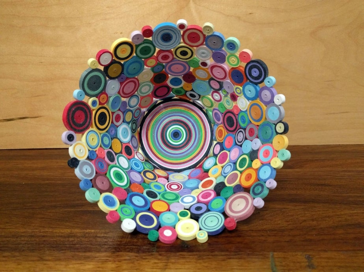 How to Make a Quilled Paper Bowl